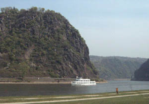 The Lorelei Rock, Rhine River, Germany